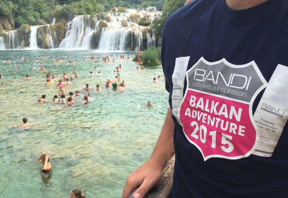 Studenci na wakacjach z BANDI
