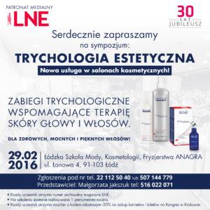 29 lutego sympozjum trychologiczne – ŁÓDŹ
