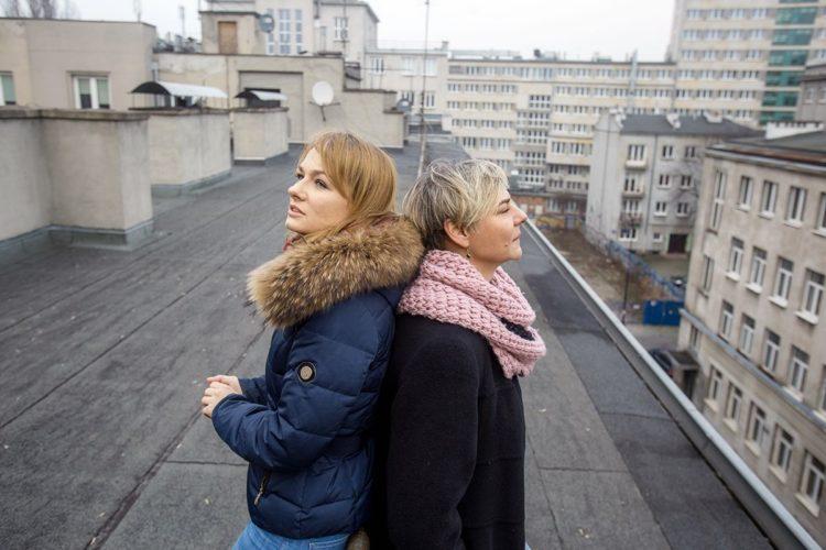 Joanna Kicińska-Draniak z BANDI (z lewej) oraz Agnieszka Sikora z Fundacji Po Drugie (z prawej)