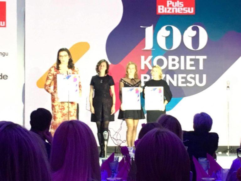 laureatki gali 100 kobiet biznesu
