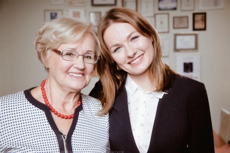 Dwie kobiety biznesu - Joanna Draniak-Kicińska i Jej Mama Bogda Draniak