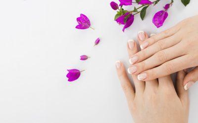 Pielęgnacja skóry dłoni.
