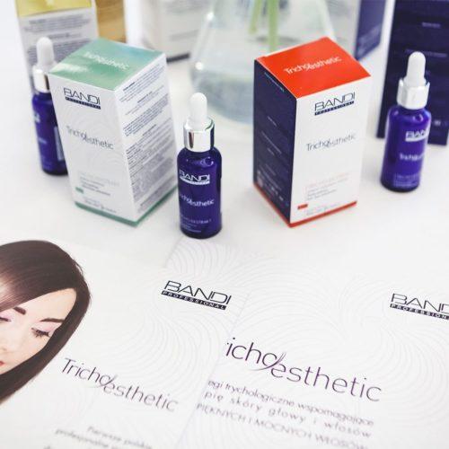Tricho-esthetic - kosmetyki trychologiczne do pielęgnacji włosów i skóry głowy.