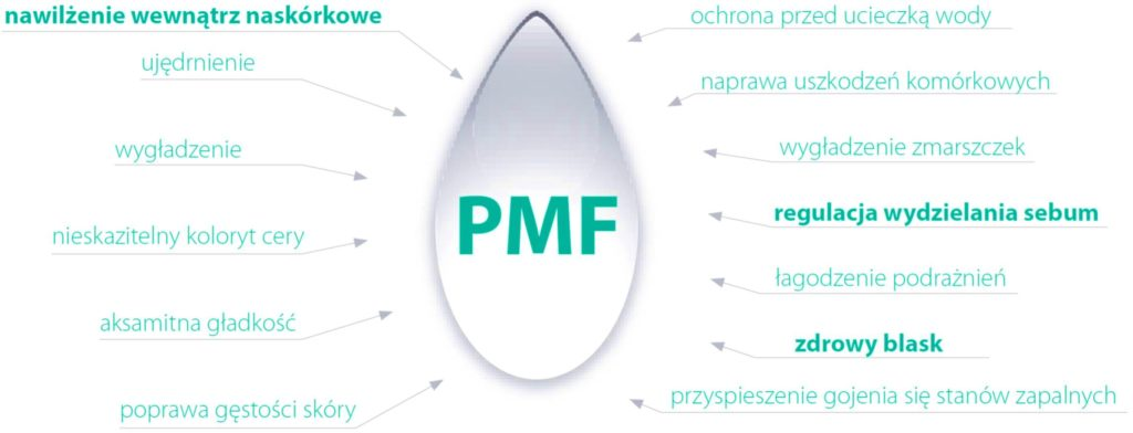 PMF - Faktor Ochrony Nawilżenia działa wielokierunkowo na skórę