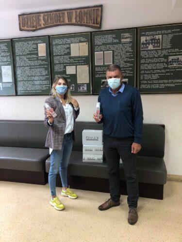 Bandi wspiera szkoły w czasie pandemii