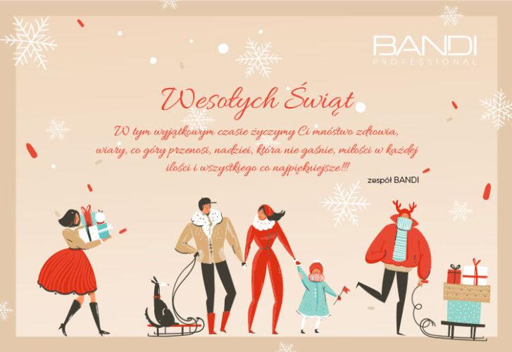 Wesołych Świąt życzy zespół Bandi