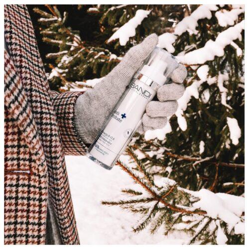 nawilżanie skóry zimą