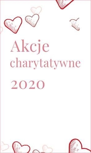 Akcje charytatywne 2020