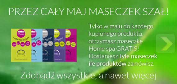 Maseczki Home Spa gratis!
