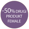 Female drugi produkt 50% taniej