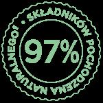 97% naturalne