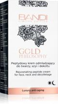 Rejuvenating peptide cream for face, neck and decolletage 30 ml
