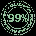 99% naturalne